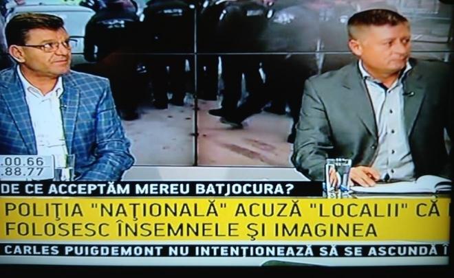 """Participare emisiune """"Se întâmplă acum"""" la B1 TV a președintelui USPLR"""
