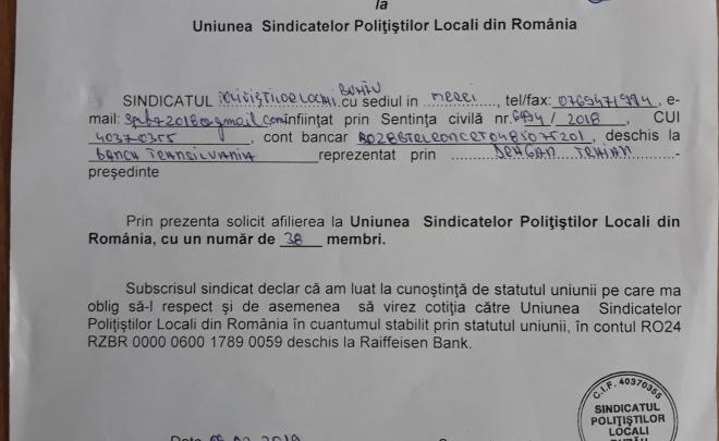 Avem un nou membru – Sindicatul Polițistilor Locali Buzău