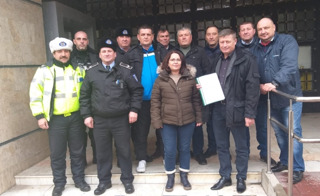 Sindicatul Polițiștilor Locali Călărași a aderat la U.S.P.L.R.
