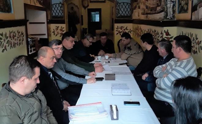 Ședința Biroului Executiv din 11.01.2020 în Sibiu
