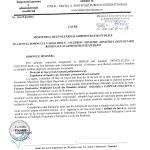 Adresa revenire MDRAP statut PL